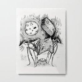 Ink House II Metal Print