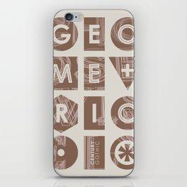 Century Gothic iPhone Skin