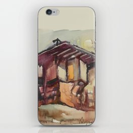 Tryavna Old Town's Wooden House iPhone Skin