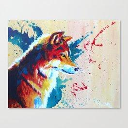 Untamed Canvas Print