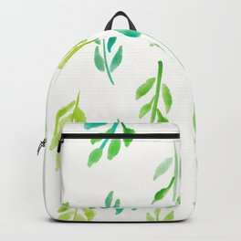 180726 Abstract Leaves Botanical 18 |Botanical Illustrations Backpack