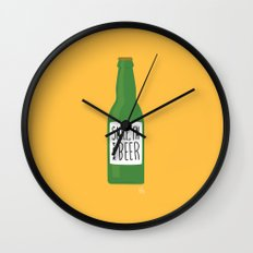 Smile, I'm your beer Wall Clock
