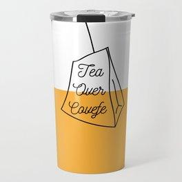 Tea Over Covfefe Travel Mug