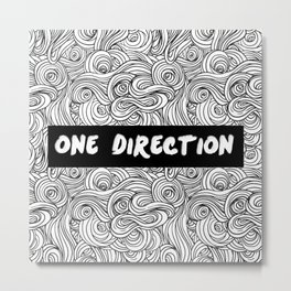 One Direction Metal Print