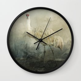 Heron Stare Wall Clock