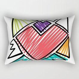 DEJA VU Rectangular Pillow