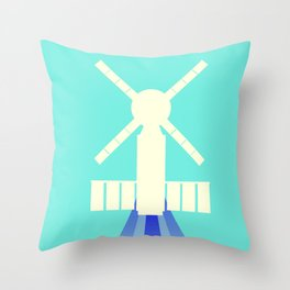 Skylab Space Station Space Art. Throw Pillow