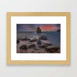Rhoscolyn Rocks Framed Art Print