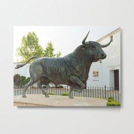 bull stature. Spain Metal Print