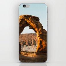Arches at Sunrise iPhone Skin