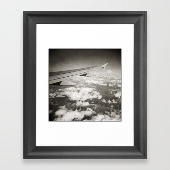 { flying high } Framed Art Print