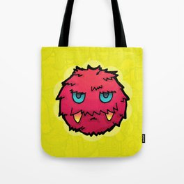 Doodle Red Ball Tote Bag