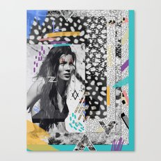 KATE MOSS TRIBE Canvas Print