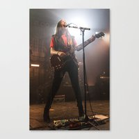 haim Canvas Prints featuring HAIM by Adam Pulicicchio Photography