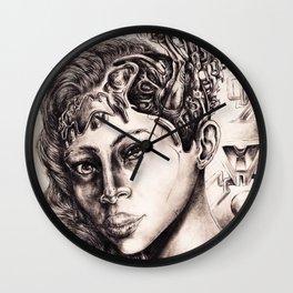 Cerebral-Womb Wall Clock