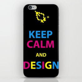 Keep Calm and Design iPhone Skin