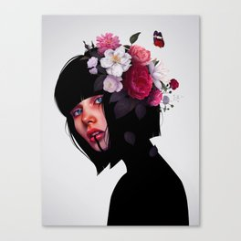 Fleur Canvas Print