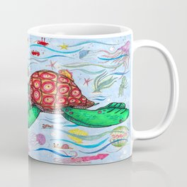 Sea Turtles and their diet Coffee Mug