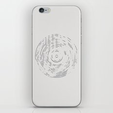 Record Black and White iPhone & iPod Skin