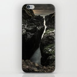 Cape Perpetua's Devil's Churn at Sunset iPhone Skin