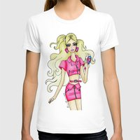 barbie T-shirts featuring Barbie. by The Brian Diaries