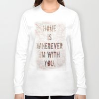 ohio Long Sleeve T-shirts featuring HOME (Ohio) by Madison Daniels