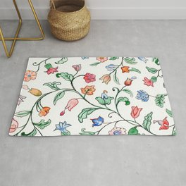 Tiny Floral Twines Rug