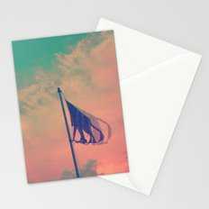 Red Sky At Night, Sailor's Delight Stationery Cards