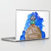 little prince Laptop & iPad Skins featuring Little Prince Vader by gunberk