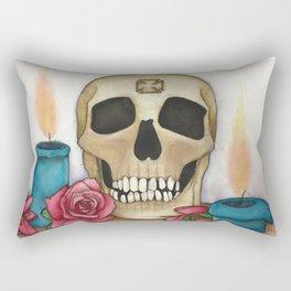 Strengh in Death Rectangular Pillow
