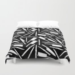Kitchen Knives Duvet Cover