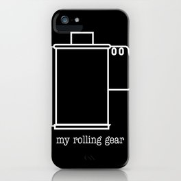 My rolling gear iPhone Case