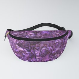 Abalone Shell | Paua Shell | Sea Shells | Patterns in Nature | Magenta Tint | Fanny Pack