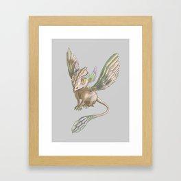 Sparrow dagon by Dreamingsenga Framed Art Print