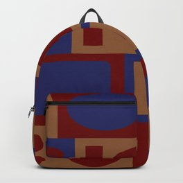 circles and rectangles Backpack
