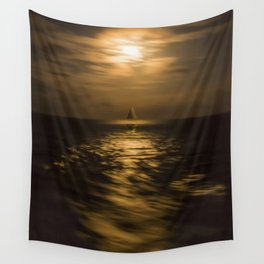 I'll Sail Away Wall Tapestry
