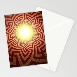Swazi Light Tunnel Stationery Cards