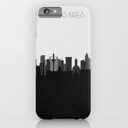 City Skylines: Buenos Aires iPhone Case