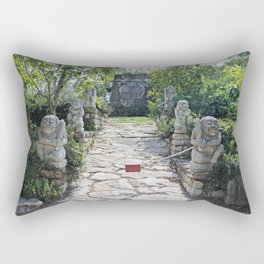 Outside the Limelight Rectangular Pillow