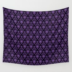 Haunted Wallpaper Wall Tapestry