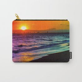 Rainbow Sunset Carry-All Pouch