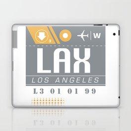 LAX International Travel Ticket Laptop & iPad Skin