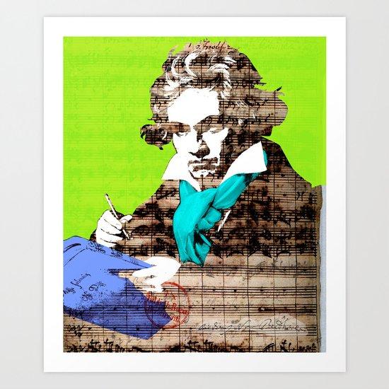 Ludwig van Beethoven 5 Art Print