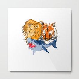 Predator Animals Metal Print