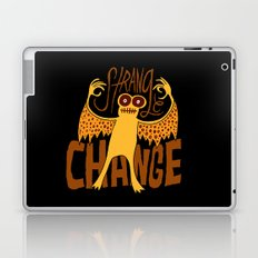 Strange Change Laptop & iPad Skin