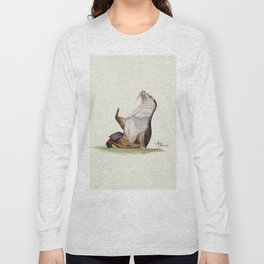 Sea Lion Watercolor Long Sleeve T-shirt