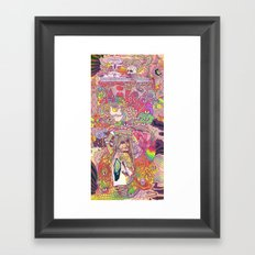 Feral Kittens Framed Art Print