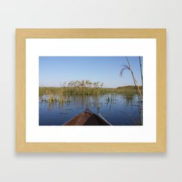 Mokoro Framed Art Print