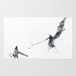 Final Fantasy Watercolor Rug