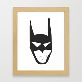 Bat Guy Framed Art Print